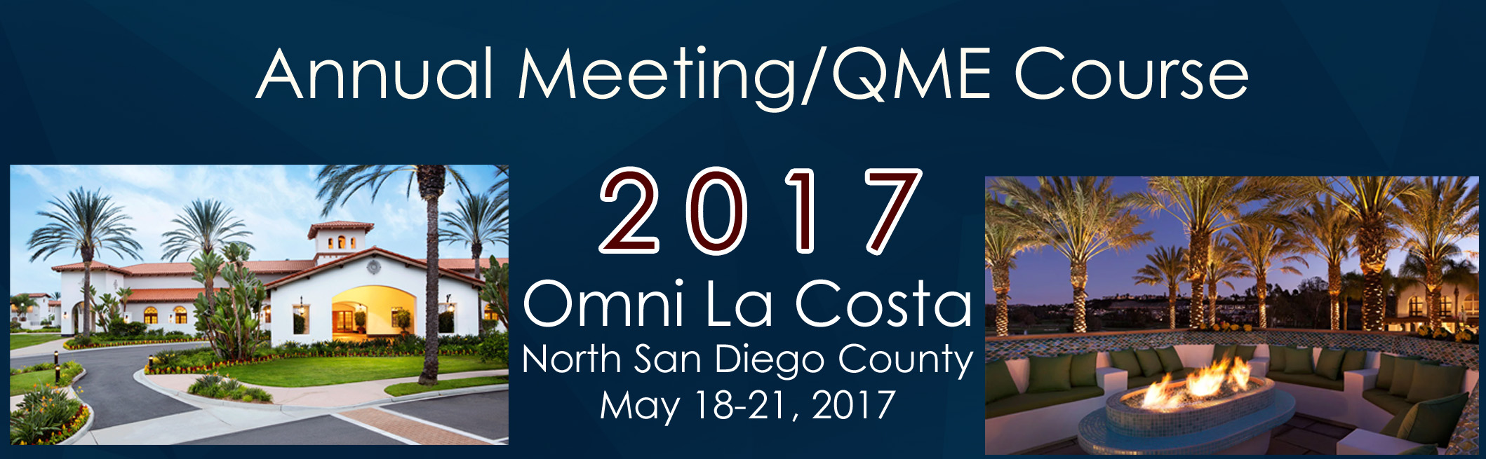 Annual Meeting/QME Course
