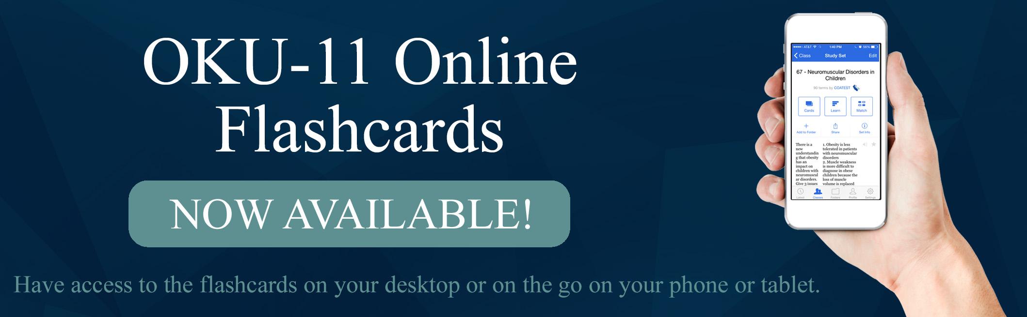 OKU-11 Study Flashcards